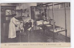 Contrexville - Intérieur De L'établissement-thermal - La Mécanographie -LL - Vittel Contrexeville