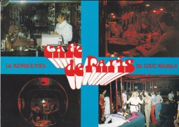 C P S M- C P M---NOUVELLE CALEDONIE---NOUMEA---café De Paris---voir 2 Scans - Nouvelle-Calédonie