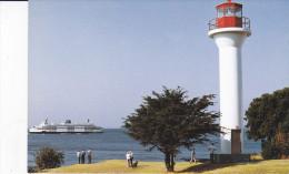 Georgina Point LIGHTHOUSE , Mayne Island , B.C. , Canada , 50-70s - Fari