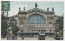 PARIS - La Gare Du Nord      (79744) - Cartes Postales