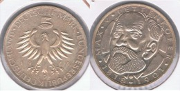 ALEMANIA 5 DEUTSCHE MARK D 1968 PLATA SILVER Z - [ 6] 1949-1990 : RDA - Rep. Dem. Alemana