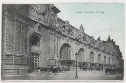 PARIS - Gare Du Quai D' Orsay       (79745) - Cartoline