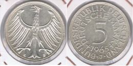 ALEMANIA 5 DEUTSCHE MARK J 1965 PLATA SILVER Z - [ 6] 1949-1990 : RDA - Rep. Dem. Alemana