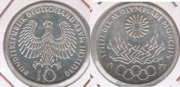 ALEMANIA 10 DEUTSCHE MARK F 1972 PLATA SILVER Z - [ 7] 1949-… : FRG - Fed. Rep. Germany
