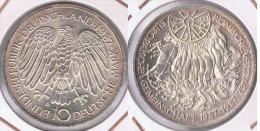 ALEMANIA 10 DEUTSCHE MARK G 1987 PLATA SILVER Z - [ 7] 1949-… : FRG - Fed. Rep. Germany