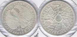ALEMANIA 10 DEUTSCHE MARK G 1989 PLATA SILVER Z - [ 7] 1949-… : FRG - Fed. Rep. Germany