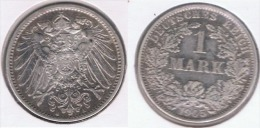 ALEMANIA DEUTSCHES REICH 1  MARK 1905 A PLATA SILVER. Z1 - [ 2] 1871-1918: Deutsches Kaiserreich