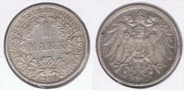 ALEMANIA DEUTSCHES REICH 1  MARK 1906 A PLATA SILVER. Z - 1 Mark