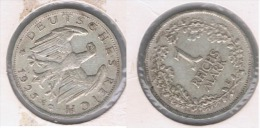ALEMANIA DEUTSCHES REICH 1  MARK 1925 E PLATA SILVER. Z - 1 Mark