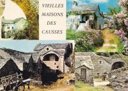 CAUSSES NOIR, MEJEAN ET LARZAC VIEILLES MAISONS TYPIQUES MULTIVUES  (DIL6) - Bâtiments & Architecture