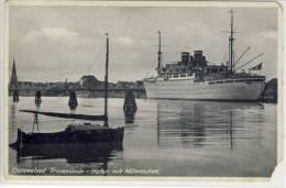 Ostseebad TRAVEMÜNDE - Hafen Mit SS MILWAUKEE SHIP - Luebeck-Travemuende