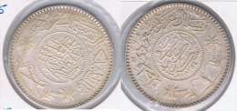ARABIA SAUDI RIAL 1950 PLATA SILVER MUY BONITA Z - Arabia Saudita