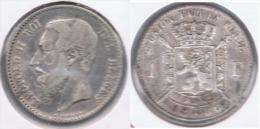 BELGICA 1 FRANC 1886 PLATA SILVER Z - 07. 1 Franco