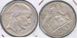 BELGICA 50 FRANCOS 1948  PLATA SILVER  Z - 05. 50 Francos