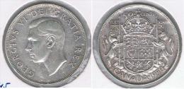 CANADA  50 CENTS DOLLAR 1950 PLATA SILVER Z - Canada