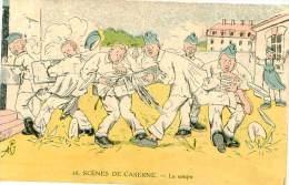 Belle Carte -  Militaire , Scéne De Caserne , La Soupe            P621 - Humoristiques