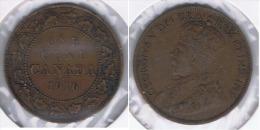 CANADA  JORGE V CENT DOLLAR 1916  Z BONITA - Canada