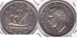 CANADA DOLLAR 1949 PLATA SILVER Z MUY BONITA - Canada