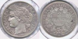 FRANCIA FRANCE 2 FRANCS 1895 A PLATA SILVER Z - Francia
