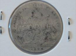 JETON NECESSITE 1880 DE NAMAKER ZAL VERVOLGD WORDEN VOORUIT SAM MAATSCH VOORUIT 1FR DEEL JETON GENT - Monetary / Of Necessity