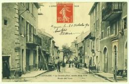 Joyeuse - Ardèche - La Grande-Rue - Entrée De La Ville - Route Des Vans - Joyeuse