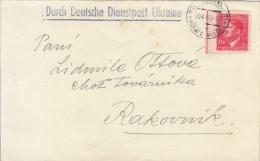 Durch Deutsche Dienstpost Ukraine 1943 - Briefe U. Dokumente