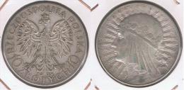 POLONIA 10 ZLOTY 1932 PLATA SILVER Z - Polonia