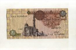 - EGYPTE   . BILLET DE 1 L.. - Egipto