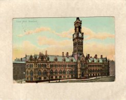 55695     Regno  Unito,  Town  Hall,  Bradford,  VG  1906 - Bradford