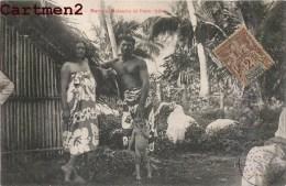 TAHITI MAREVA MATAUIRA ET PEPE TAHITIEN ETHNOLOGIE PAPEETE - Tahiti