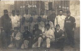NOIZAY ... POSTE IX .. 1914 ... GROUPE DE MILITAIRES - France