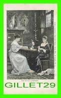 """MUSÉES D´ITALIE - PEINTURE  """"UNE HISTOIRE PALPITANTE"""" - PUBLICITÉ DES CHOCOLAT-VINAY SÉRIE III, 28 SUJETS No 17 - - Musées"""