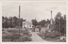 Sverige - Hallabro (Ronneby Kommun) - Järnvägsstation, Bahnhof 1936 - Zweden