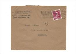 Briefomslag A. Van De Putte Gereedschappen Met Zegel -10% - 1946 -10%
