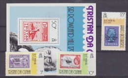 Tristan Da Cunha 1979 Sir Rowland Hill 3v + M/s  ** Mnh (24829) - Tristan Da Cunha