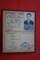 1931 CARTE D´Identité GALEOTTI Née DUMONT à OUISTLHRAM FISCAL 70 FR DOCUMENT HISTORIQUE - Documentos Históricos