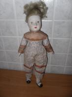 VECCHIA BAMBOLA DI PORCELLANA CERAMICA VINTAGE LOTTO 6 - Bambole