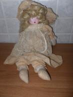 VECCHIA BAMBOLA DI STOFFA VINTAGE LOTTO 4 - Bambole