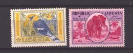 01046  -   Libéria :   Yv   178-79  (*) - Liberia