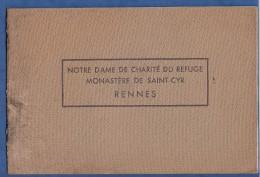 Album Ancien Avec + De 20 Clichés - RENNES - Notre Dame De Charité Du Refuge - Monastère De Saint Cyr - Tourte Petitin - Album & Collezioni