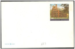 Stati Uniti/United States/États-Unis: Intero, Stationery, Entier, Università Di Yale, Yale University, Université De Yal - Enfance & Jeunesse