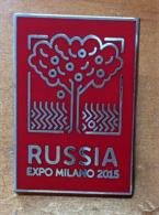 UNIVERSAL EXPO MILANO 2015. Pin Souvenir Du Pavillon De La RUSSIE.  état Neuf. Un Seul Disponible - Pin