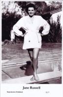 JANE RUSSELL - Film Star Pin Up - Publisher Swiftsure Postcards 2000 - Artiesten