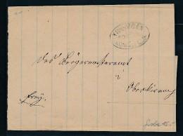 Stempel Beleg Villingen   (bc8554 ) Siehe Scan ! - Baden
