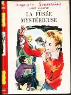 André Massepain - La Fusée Mystérieuse - Bibliothèque Rouge Et Or  - ( 1959 ) . - Bibliothèque Rouge Et Or