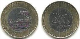 Hungary 200 FORINT 2009 BIMETALLIC Coin Magyar - Hungría