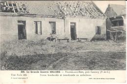 VILLERS AUX BOIS .. FERME BOMBARDEE ET TRANSFORMEE EN AMBULANCE - France