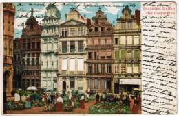 Brussel, Bruxelles, Maison Des Corporation (pk21613) - Places, Squares