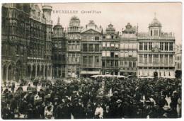 Brussel, Bruxelles, GRand Place (pk21614) - Places, Squares