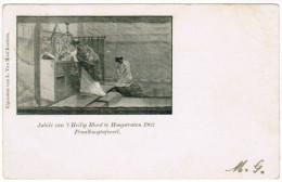 Jubilé Van ´t Heilig Bloed Te Hoogstraten 1902, Praalboogtafereel (pk21616) - Hoogstraten
